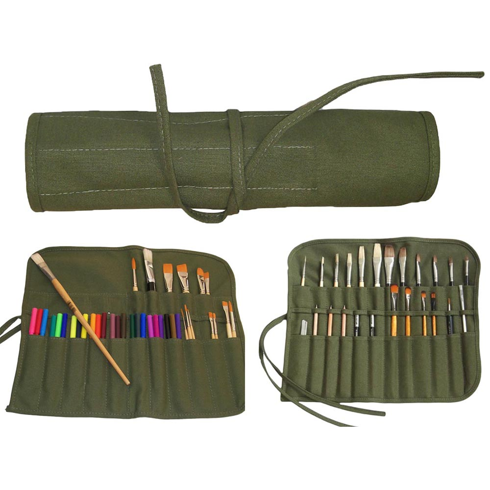 Artist canvas paint brush craft roll horoeka house ltd for Canvas roll for painting